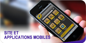 Site et applications mobiles