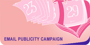 Email publicity campaign