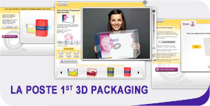 La Poste's 1st 3D packaging