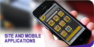 Site and mobile applications